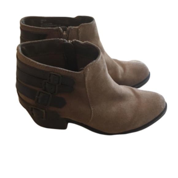 Crown Vintage Leather Joie booties